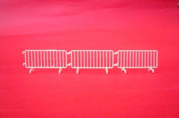 Les barrières ...