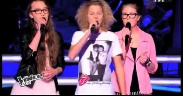 Sarah, Henri et Blandine - « Help » des Beatles