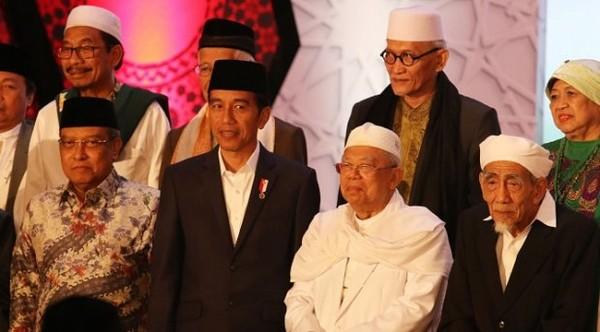 Presiden Jokowi: Jangan Benturkan Islam dan Pancasila - Berita Harian Indonesia