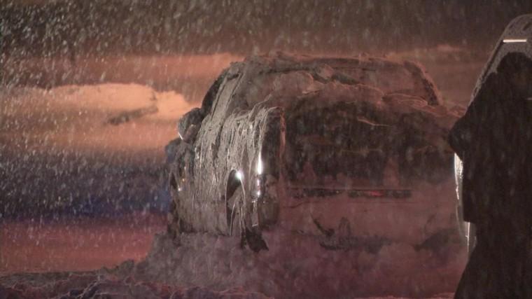 Deux hommes retrouvés sans vie dans leur véhicule enlisé dans la neige