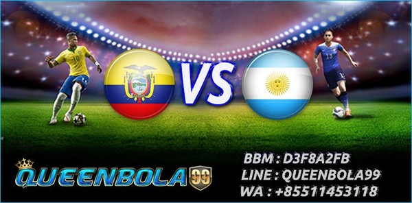 Prediksi Ecuador vs Argentina 11 Oktober 2017