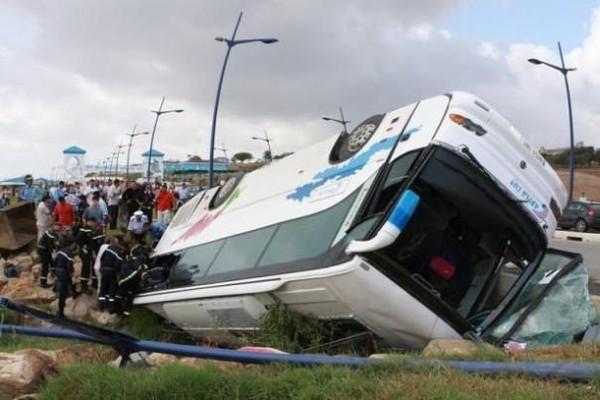 Maroc : 42 morts dans le plus grave accident d'autocar du pays