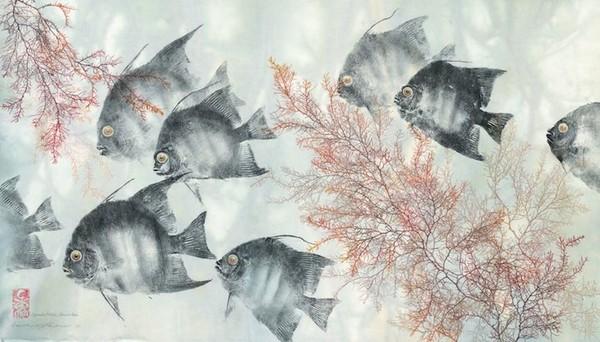 Amazing distinct gyotaku artists - NICE PLACE TO VISIT