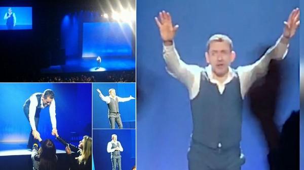 """VIDEO. Dany Boon : ses """"adieux"""" émouvants à la scène au Zénith de Lille"""