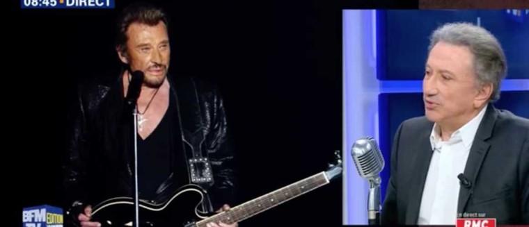 Michel Drucker explique ses larmes lors de son hommage à Johnny Hallyday (VIDEO) - actu - Télé 2 semaines