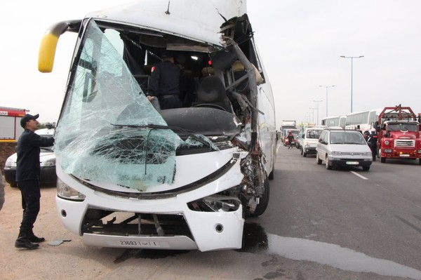 Accident de bus transportant de policiers : 53 blessés dont trois grièvement