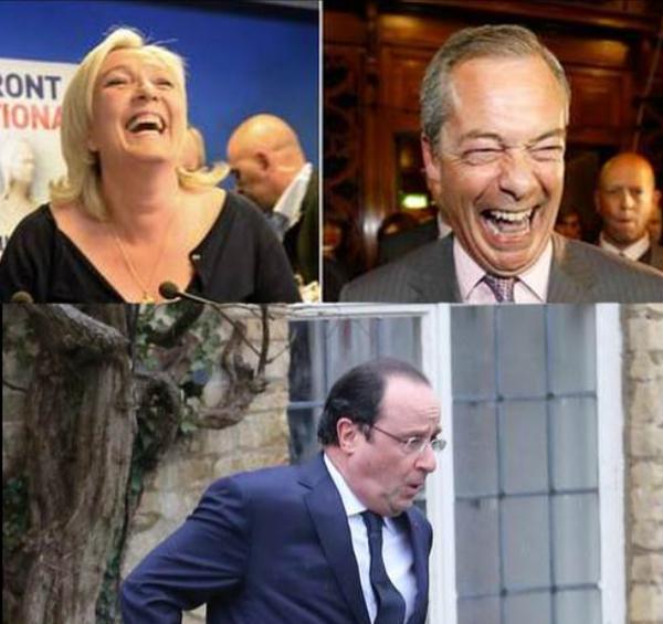Les Électeurs Rejètent Le PS Et l'Europe : Hollande Impuissant Devant Le Désastre | ZEBUZZEO