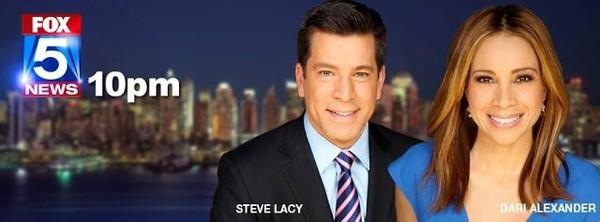 STAR PEOPLE CROWN: ROSANNA SCOTTO, GREG KELLY ,DARI ALEXANDER AND STEVE LACY ON FOX5 NEW YORK