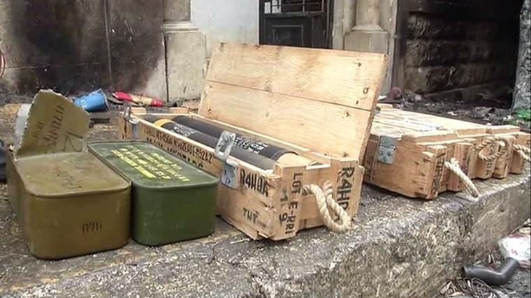 Les sapeurs russes déminent Alep-Est et découvrent des munitions de fabrication occidentale (VIDEO)