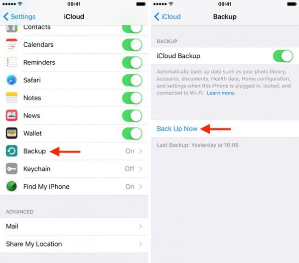 How to Restore from iCloud Backup without Reset - dr.fone
