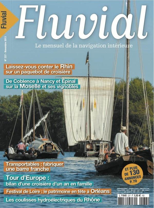 Revue Fluvial Vient de paraître Fluvial 237 - Les bonnes feuilles du numéro d'automne