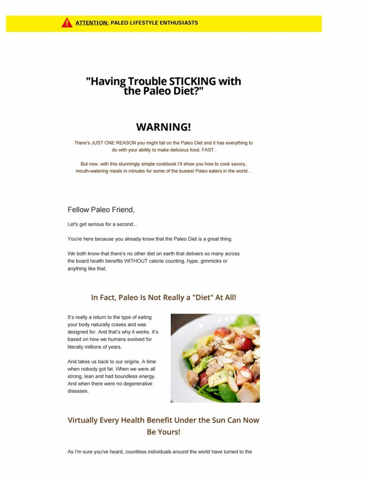 Paleo hacks recipe cookbook