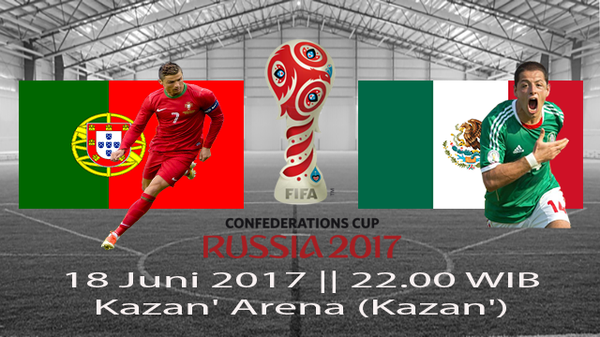 Prediksi Portugal vs Mexico 18 Juni 2017