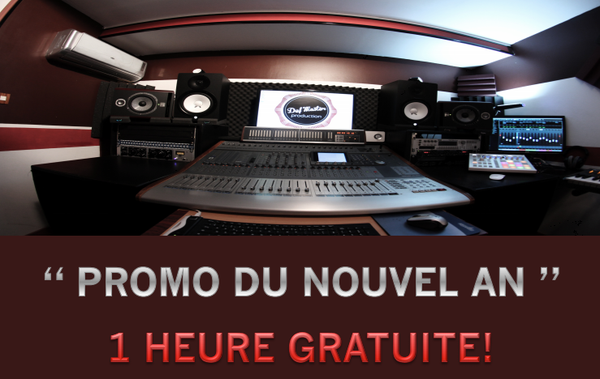 Studio d'enregistrement Defmaster : enregistrement, mixage, mastering