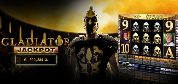 200% WELCOME BONUS UP TO 200 POUNDS TO PLAY GLADIATOR JACKPOT AT GALA CASINO