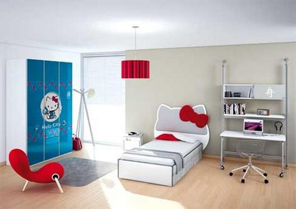 Hello Kitty Bedroom Decor for Kids | HomeDecorIn.com