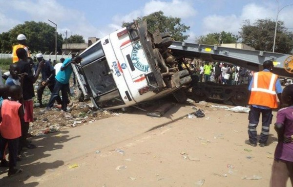 DRAME SUR LA ROUTE DE FATICK:Un accident fait 5 morts