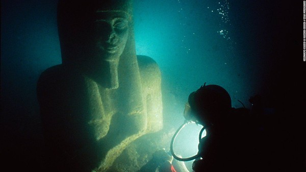 The secrets of a lost Egyptian city were underwater