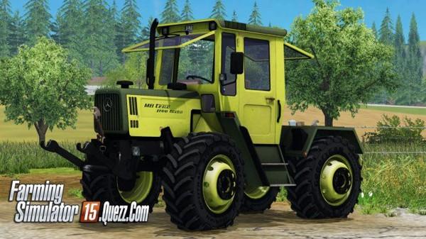 MB Trac 1100 v1.0 ls15 | Farming Simulator 15