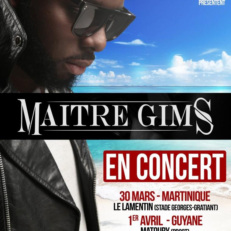 MAITRE GIMS EN CONCERT ANTILLESGUYA - Concert - Samedi 02 Avril 2016 à 20:00:00 - STADE RENE-SERGE-NABAJOTH Les Abymes