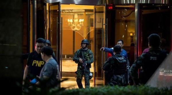 Berutang dan Gila Judi, Ini Identitas Pelaku Serangan di Manila - Berita Harian Indonesia