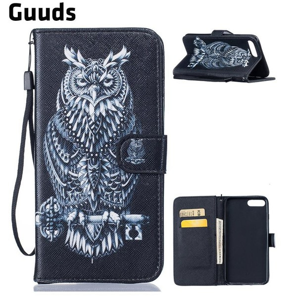 Aliexpress.com : Buy For iPhone 8 Plus 7Plus 6s 6Plus SE 5s 5G 5c Leather Case Black Owl PU Leather Wallet Case for iPhone 5c FREE SHIPPING from Reliable Wallet Cases suppliers on GUUDS Official St...
