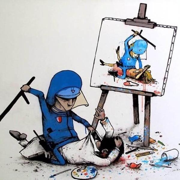 28 illustrations époustouflantes de Banksy qui vous fera réfléchir