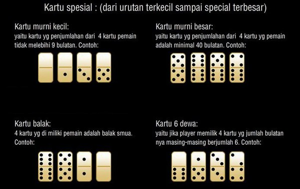 Urutan Kartu Domino Qiu Qiu | Bandar Ceme Online | Agen Poker Online