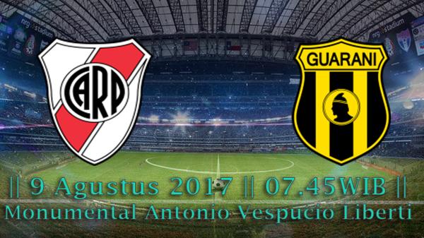 Prediksi River Plate vs Guarani 9 Agustus 2017 Copa Libertadores