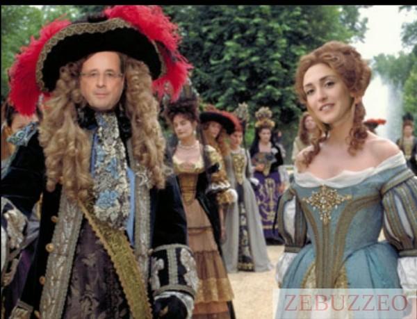 François Hollande et Julie Gayet Se Revoient : La Prostate De Nostre Sire Va Mieux!   ZEBUZZEO