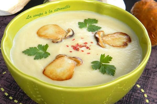 Recette de Velouté de cèpes : la recette facile