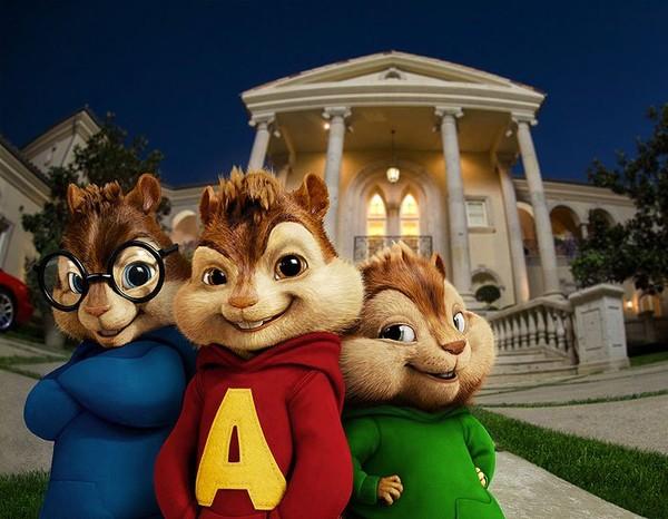 Alvin a čipmankové