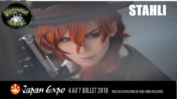 STAHLI invité cosplay Japan expo 2019