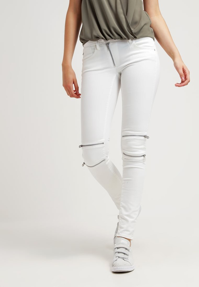 g star lynn custom mid skinny jean slim white talc superstretch jean femme zalando tendance. Black Bedroom Furniture Sets. Home Design Ideas