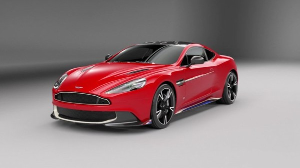 Aston Martin Vanquish S Red Arrows Special Edition