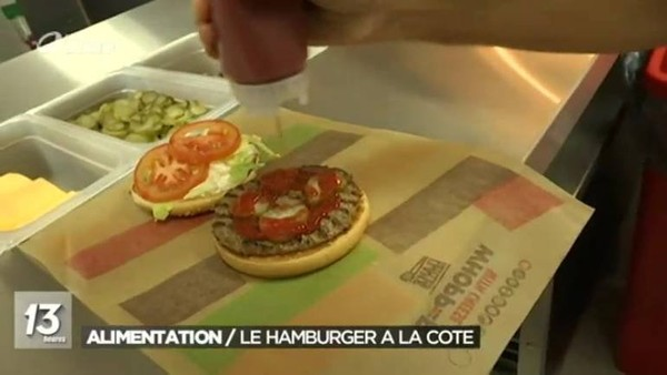 Le 1er Burger King en Wallonie, à Charleroi - JT 13h - 03/07/2017