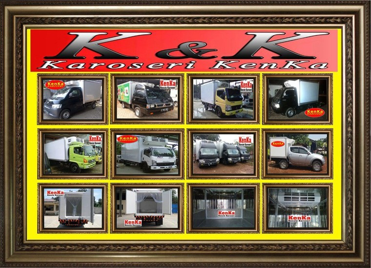 Karoseri Box Pendingin – Karoseri Mobil & Truck KenKa