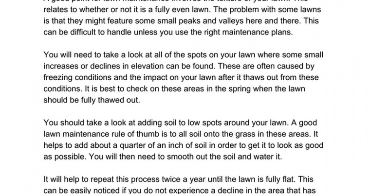 Lawn Mower Tips by G&H Landscaping