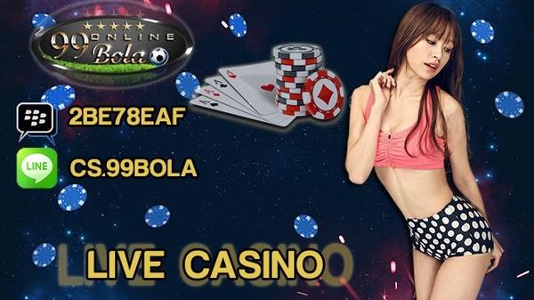 Fitur Live Casino Sbobet Indonesia Terbaru | 99 Bola