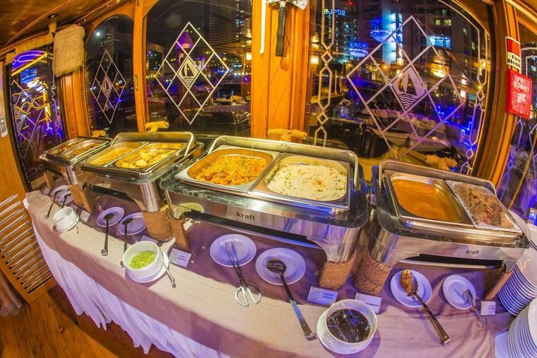 Dhow Cruise Dubai Marina | Alexandra Floating Restaurant