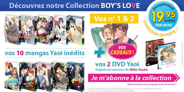 Boy's Love - Le meilleur du Yaoi - Boys-loves.fr