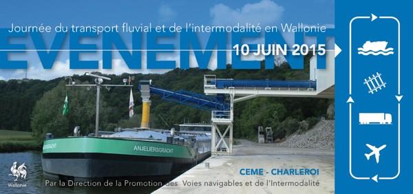 Direction générale opérationnelle de la Mobilité et des Voies hydrauliques - Journée du transport fluvial et de l'intermodalité 2015