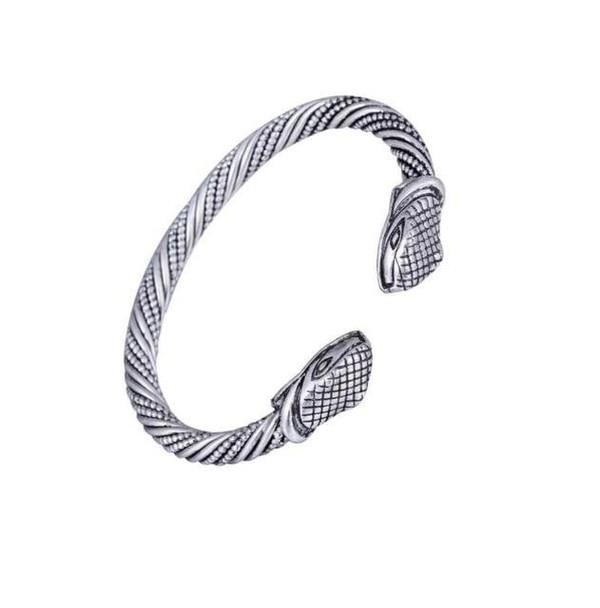 Bracelet serpent argentée 2