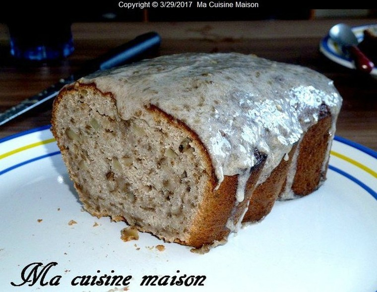 CAKE NOIX BANANE DE FELICIA TILLMAN (Recette du livre la cuisine des Desperate Housewives) - Ma Cuisine Maison