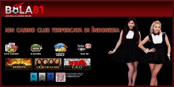 ion casino club terpercaya di Indonesia - bola81