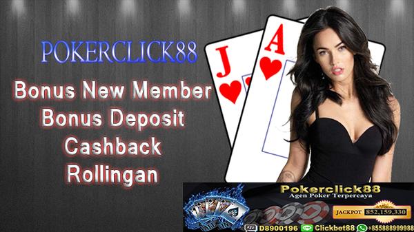 Munculnya Bandar Ceme Online Uang asli di Indonesia | Pokerclick88 |