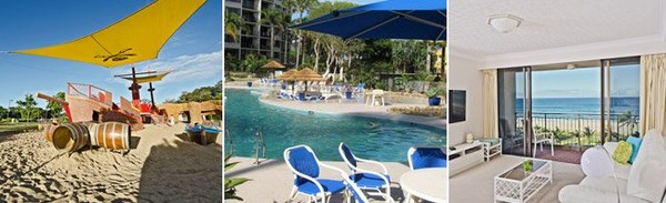 Kayaking | Waterfront Holiday Apartment, Vacation Home Rentals, Heated Resort Pool - Blue Ocean Apartment, Queensland