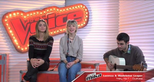 The Voice - Cover : Hey ya! - OUTKAST - Par Madeleine Leaper et Lorenza