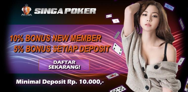 Agen Poker Online Deposit 10 Ribu