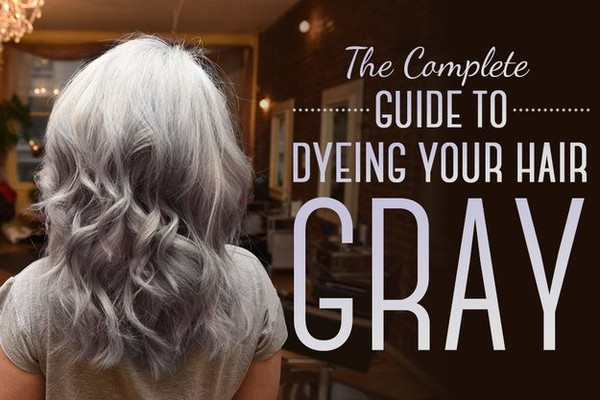 Outstanding Information On Ways to Color Your Hair Gray - NICE PLACE TO VISIT